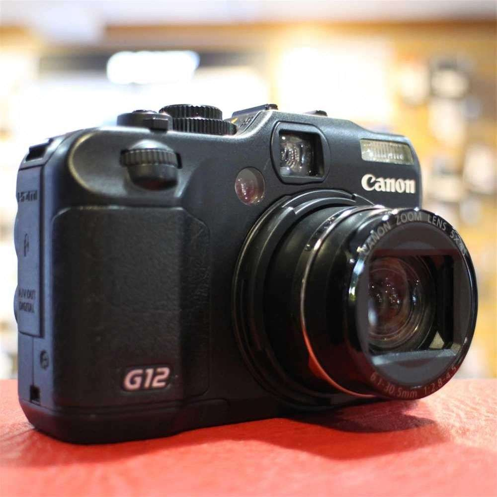used canon g12 digital compact camera harrison cameras. Black Bedroom Furniture Sets. Home Design Ideas