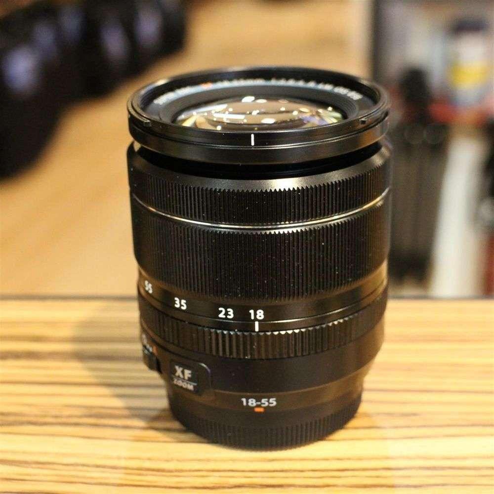 Used Fujifilm Xf 18 55mm F28 4 Af Ois Lens Harrison Cameras Fujinon Xf18 R Lm