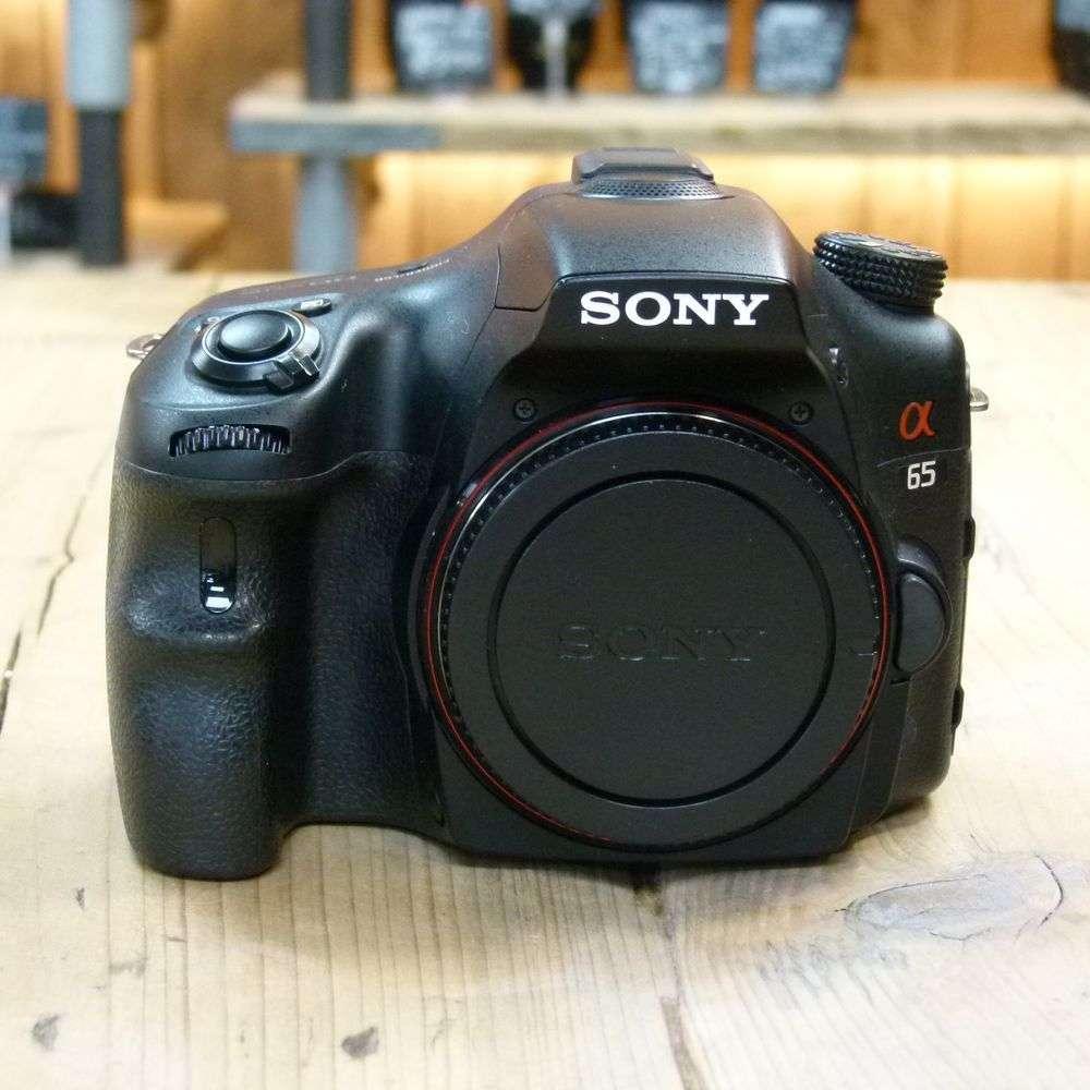 used sony a65 digital slr camera body