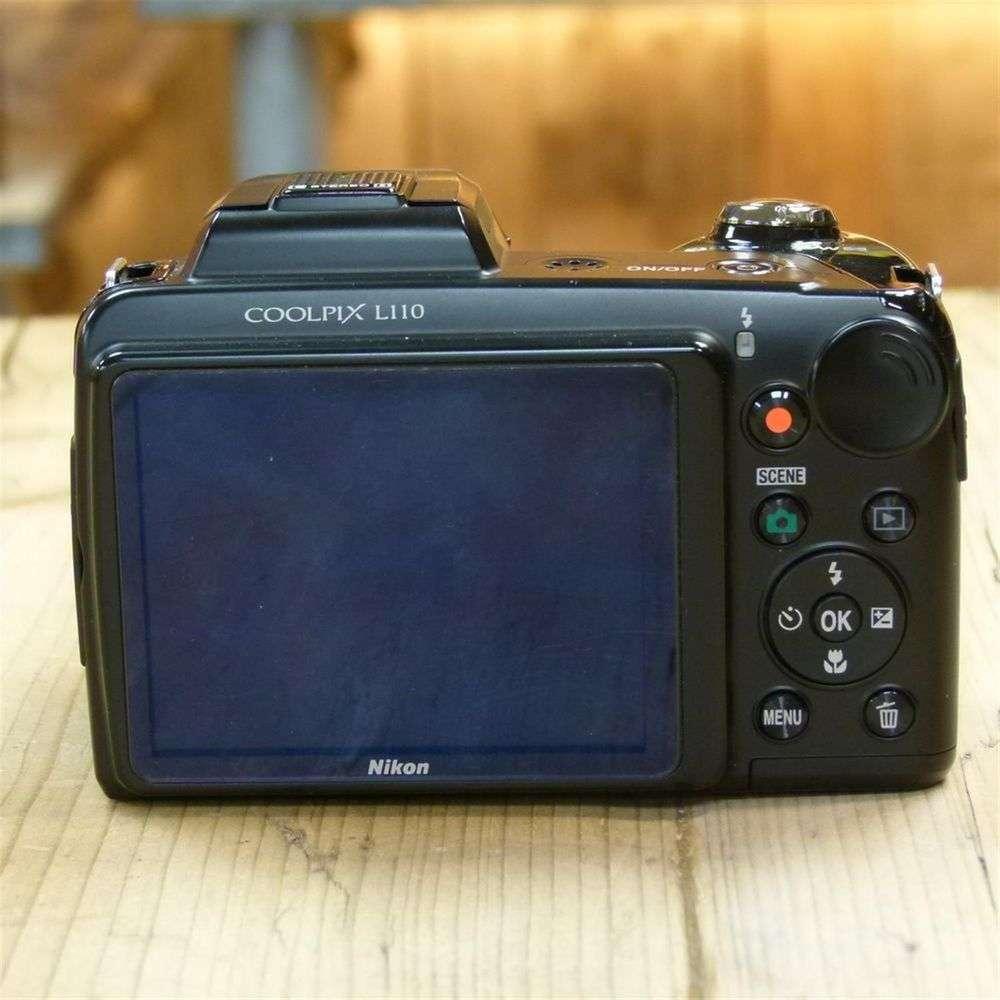 used nikon coolpix l110 black bridge camera rh harrisoncameras co uk nikon coolpix l110 owners manual nikon coolpix l110 owners manual