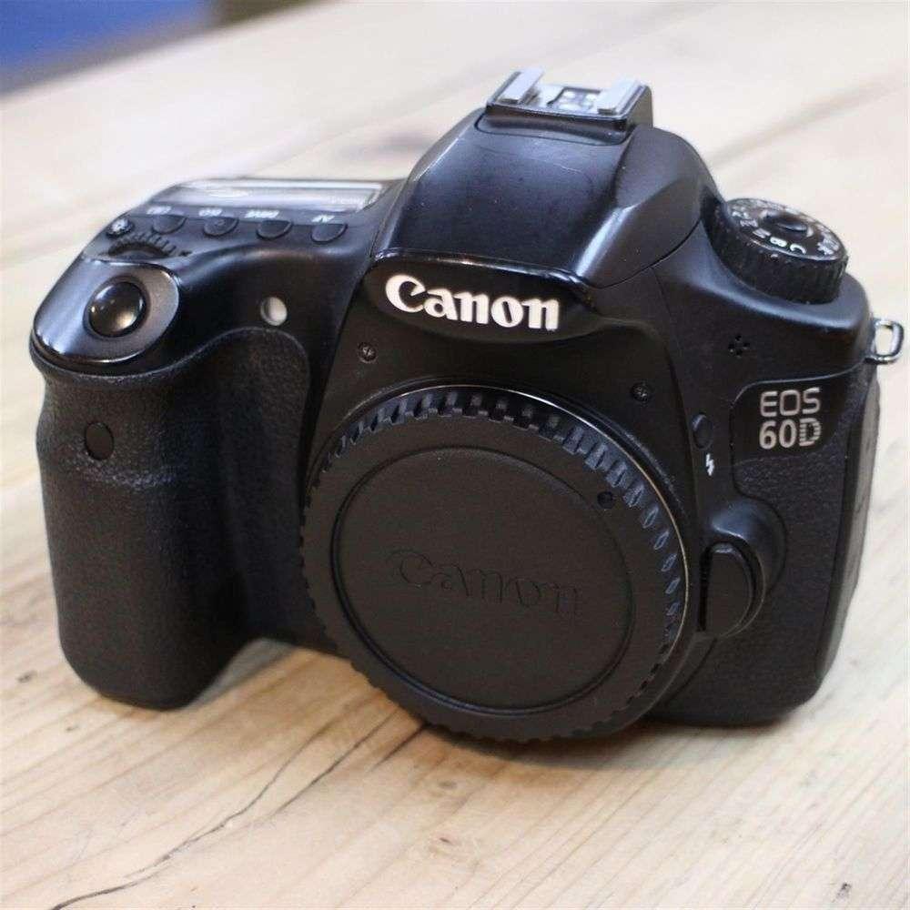 used canon eos 60d d slr camera body harrison cameras. Black Bedroom Furniture Sets. Home Design Ideas