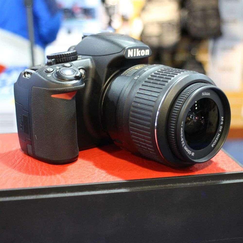 Used Nikon D3100 D-SLR Camera and AF-S 18-55mm VR Lens ...