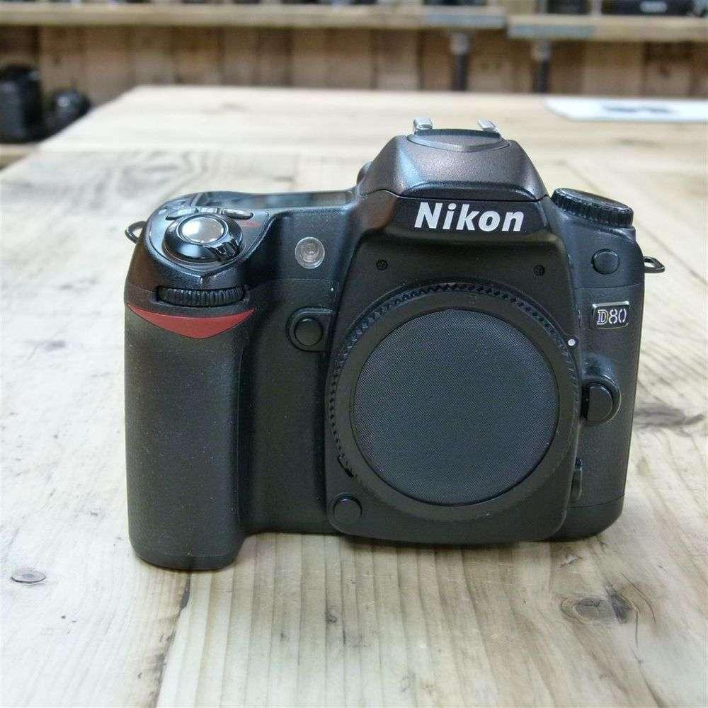 Taking photos using a nikon d 80