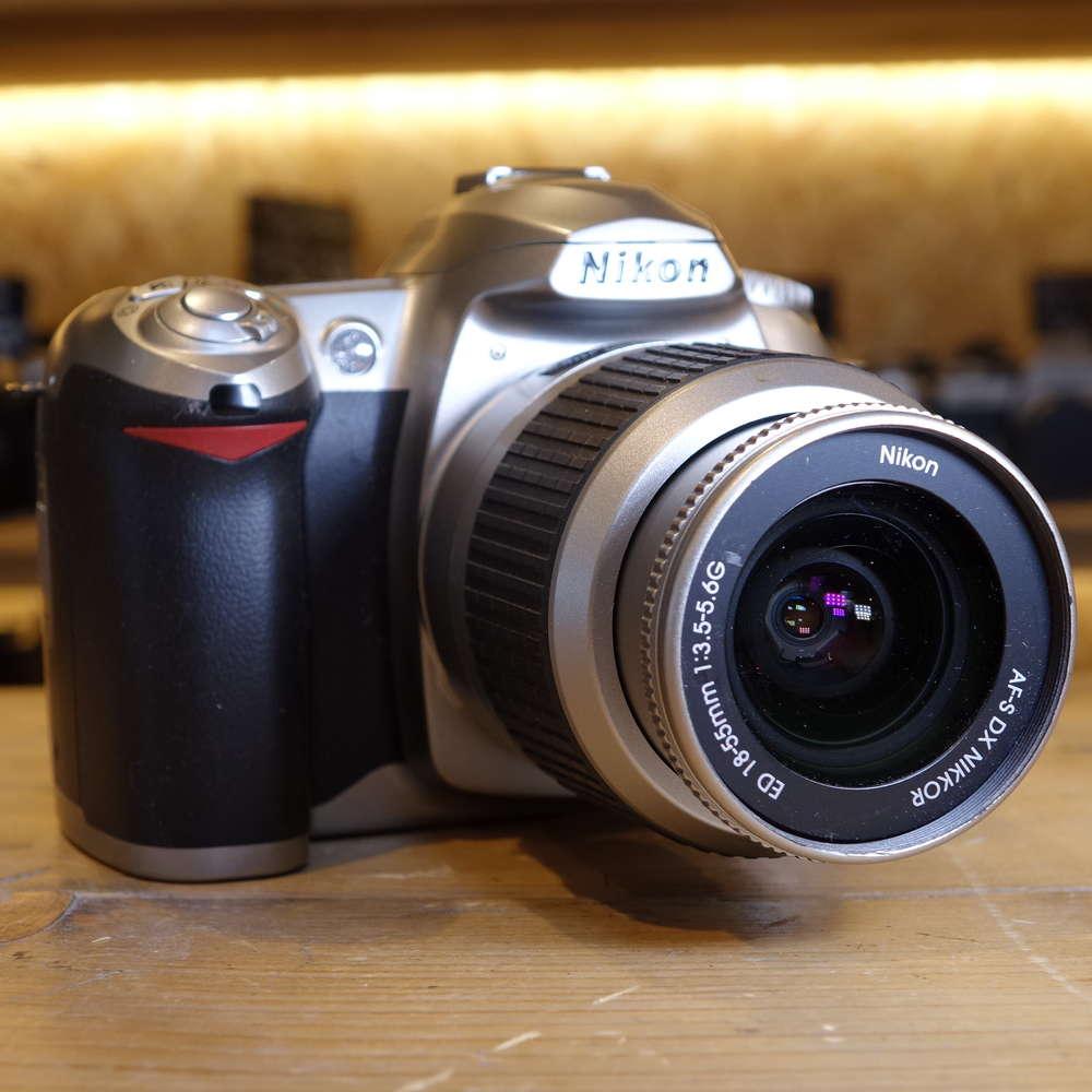 Used Nikon D50 DSLR Silver D-SLR Camera with 18-55mm Lens