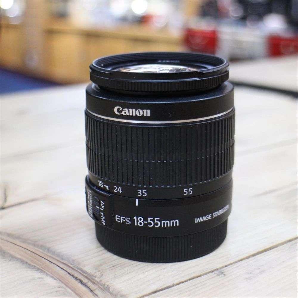 used canon ef s 18 55mm is lens. Black Bedroom Furniture Sets. Home Design Ideas
