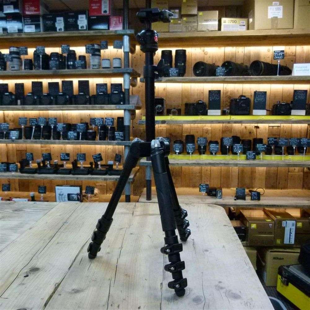 Used Manfrotto Befree One Alu Tripod Kit MKBFR1A4B-BH | Harrison ...