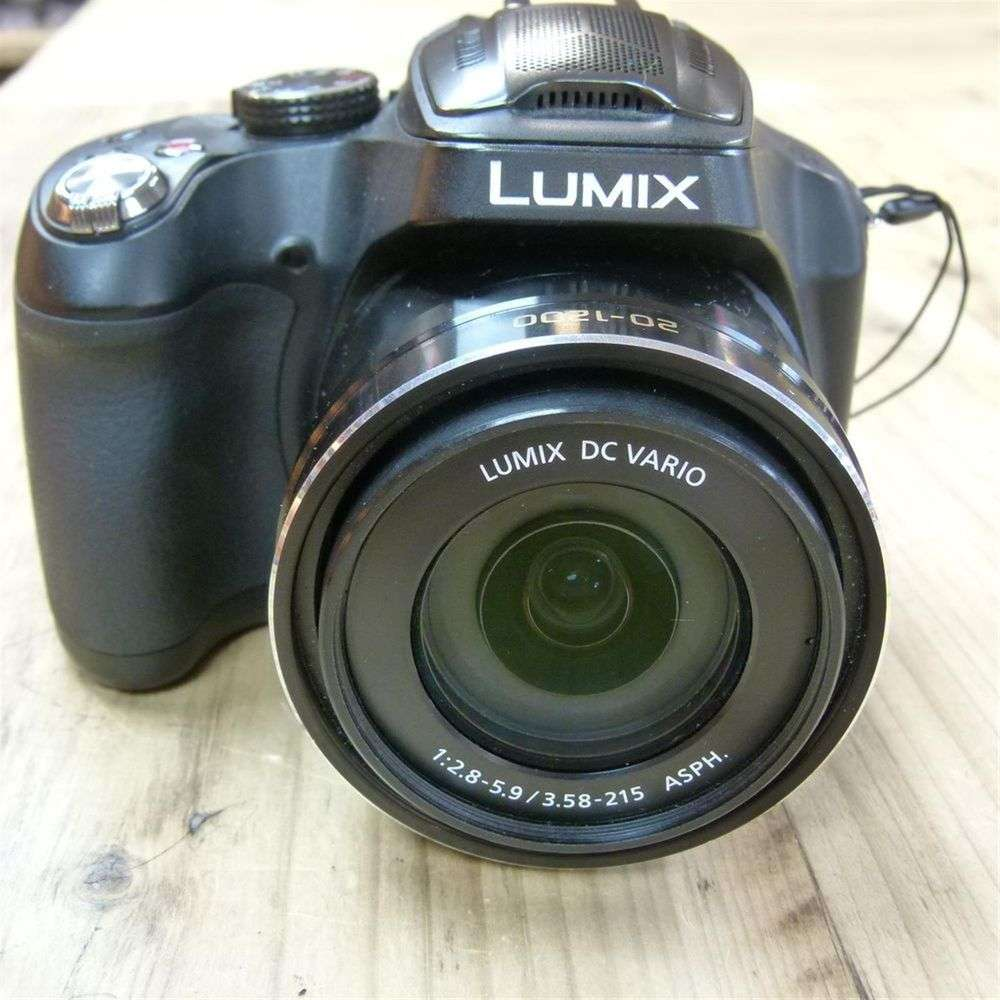used panasonic lumix dmc fz72 bridge camera. Black Bedroom Furniture Sets. Home Design Ideas