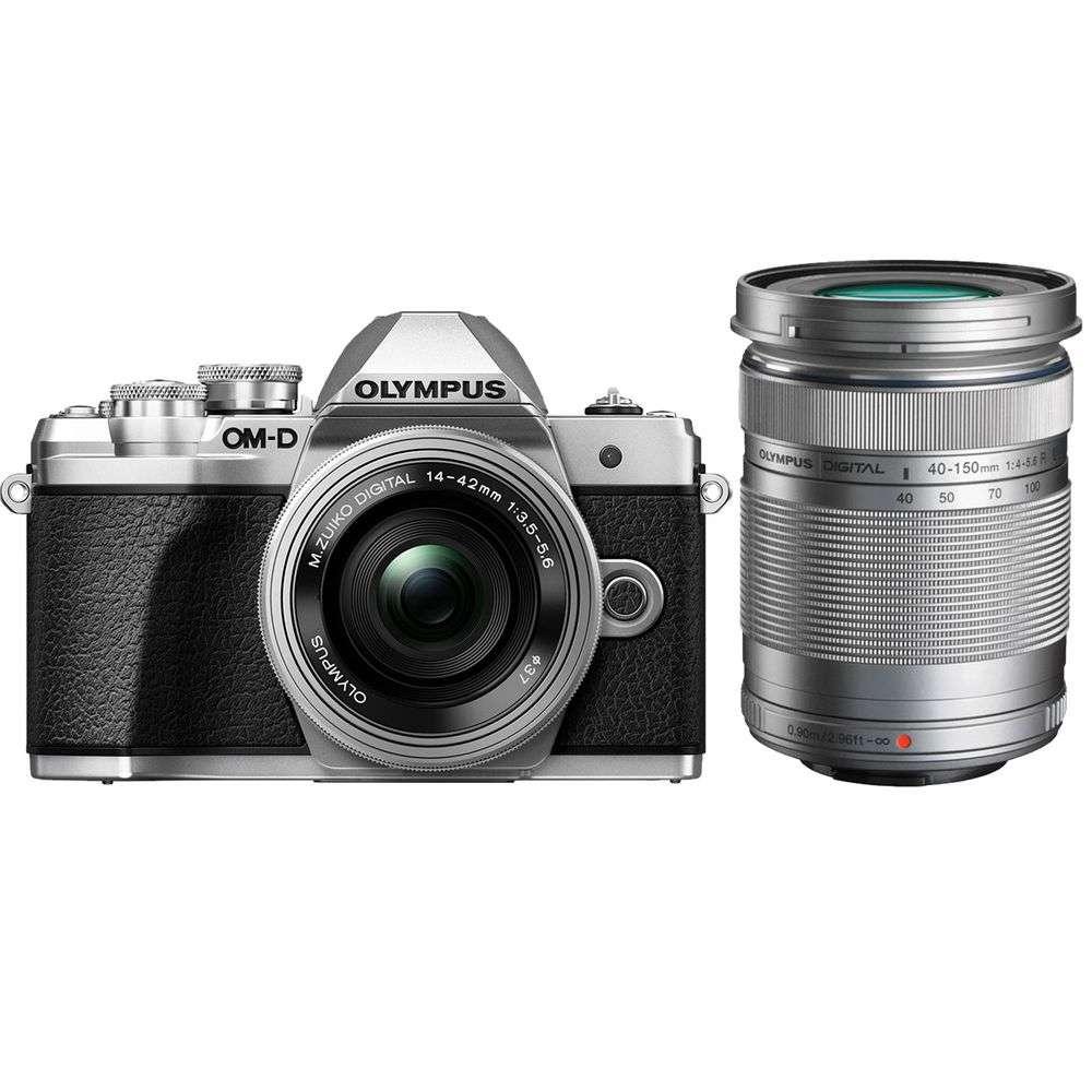 Olympus Om D E M10 Mark Iii Silver Digital Camera With 14