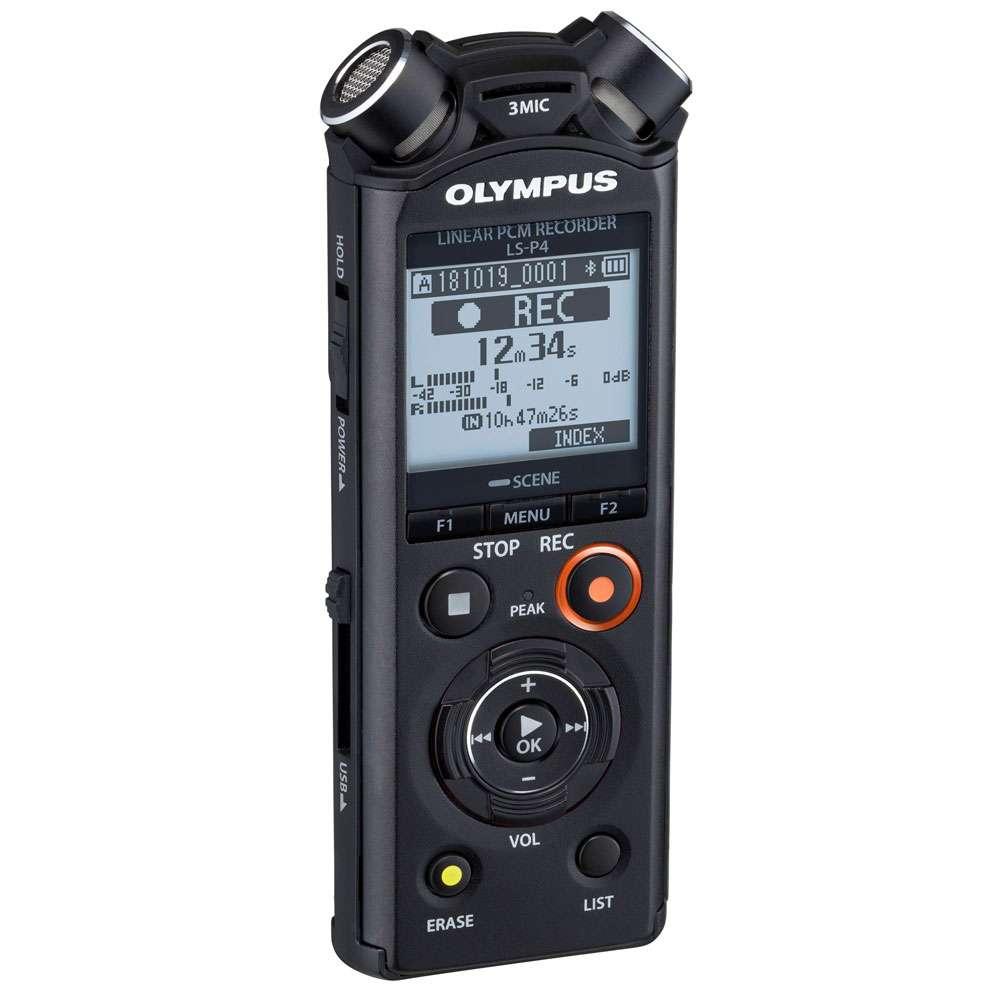 Olympus LS-P4 Linear PCM Audio Recorder
