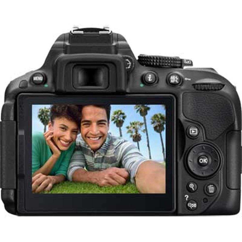 Nikon D5300 Black Digital Slr Camera Kit With 18 55mm G Af P Vr Lens