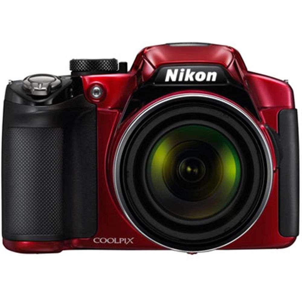Nikon Coolpix P510 Red Digital Camera