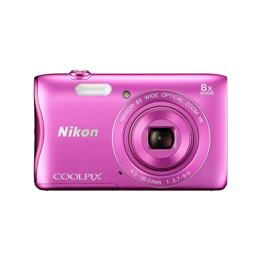 Nikon Coolpix S3700 Pink Digital Camera