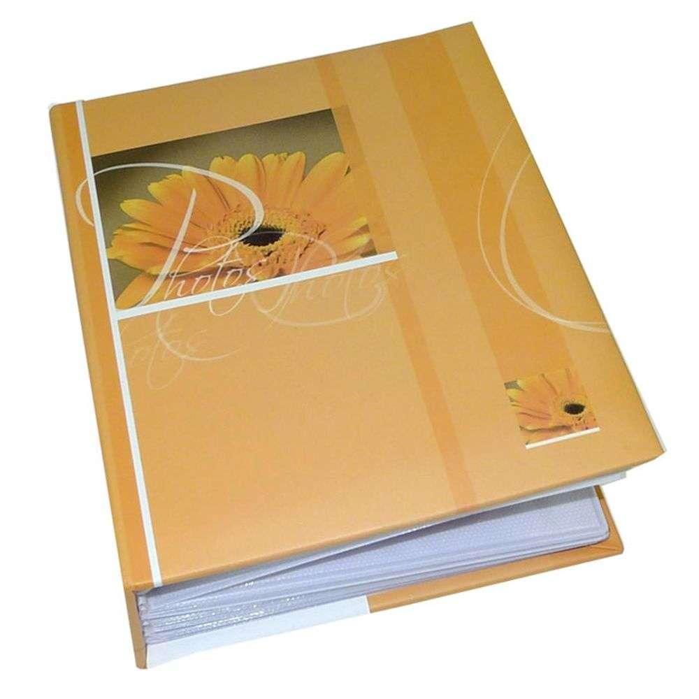 walther maya light orange 6x4 minimax slip in photo album. Black Bedroom Furniture Sets. Home Design Ideas