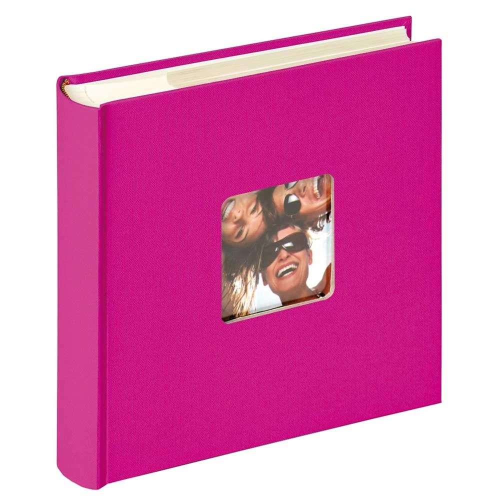 walther fun pink 6x4 slip in photo album 200 photos buy photo albums harrison cameras. Black Bedroom Furniture Sets. Home Design Ideas