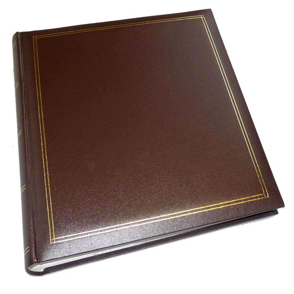 walther monza brown 7x5 slip in photo album 200 photos. Black Bedroom Furniture Sets. Home Design Ideas
