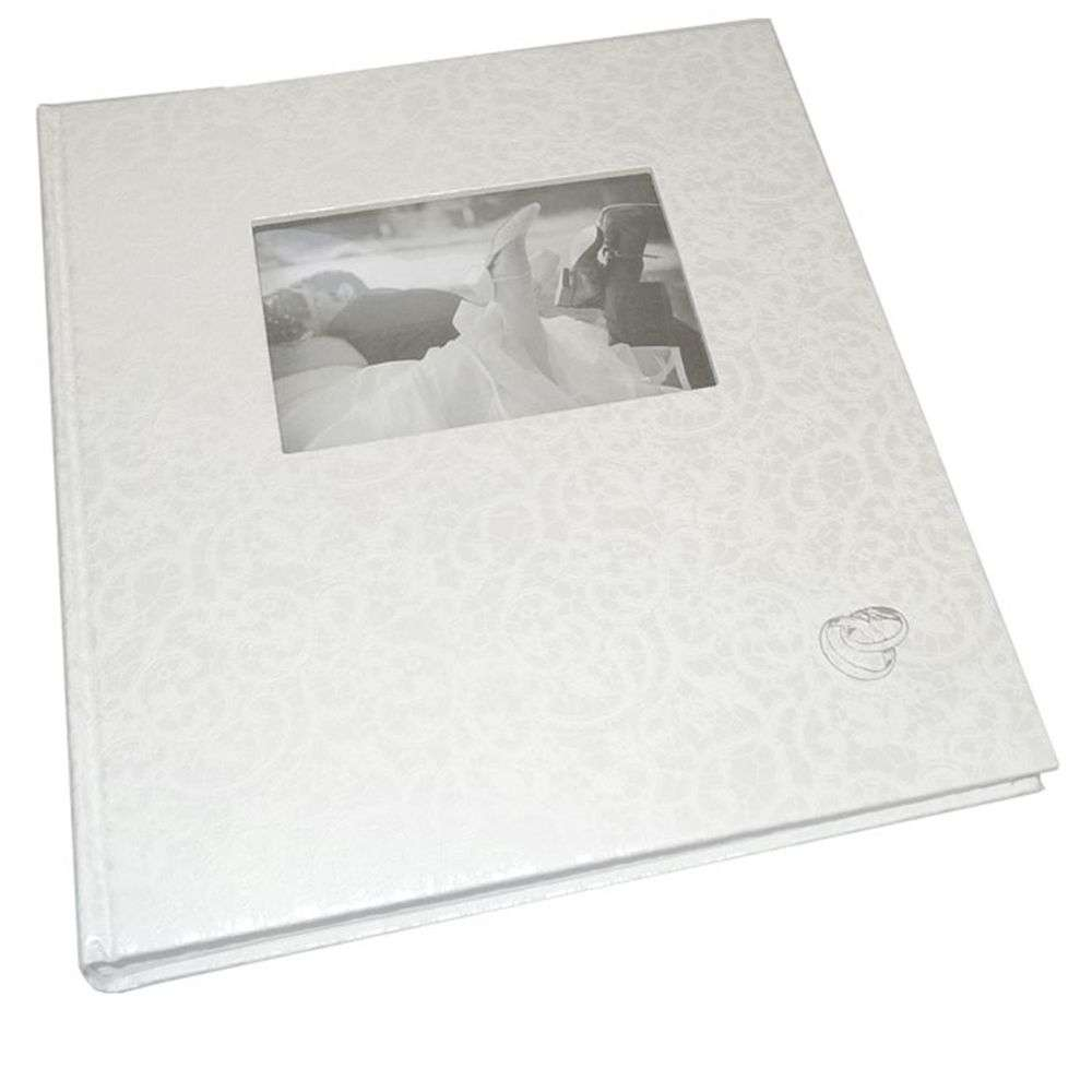 walther music traditional wedding photo album 60 sides. Black Bedroom Furniture Sets. Home Design Ideas