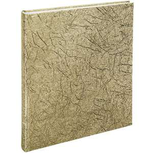 Caracas Gold Photo Album Tradtional Style 12.5x11.25 Inches Overall
