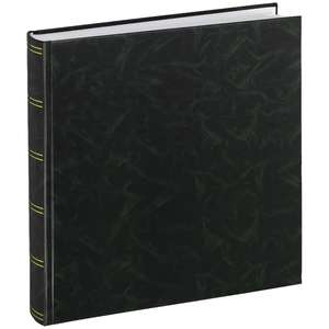 Birmingham Green Large Photo Album Tradtional Style 13.75x13 Inches Overall