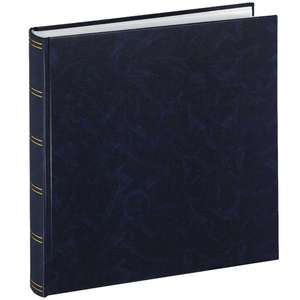 Birmingham | Traditional Photo Album | 100 White Pages | 11.75 x 15.5 inch | Blue