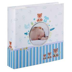 Tim Baby Slip In Photo Album for 200 6x4 Inch Photos Approx 8.75 Inch Square
