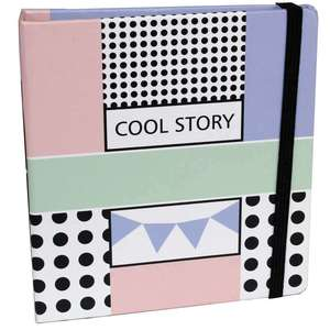 Cool Story Slip In Instax Mini Photo Album Overall Size 4.5x5 Inches Holds 56 Photos