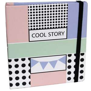 Cool Story Slip In Instax Wide Photo Album Overall Size 4.5x5 Inches Holds 28 Photos