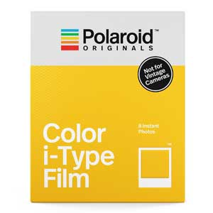 Polaroid i-Type Film - 8 Colour Instant Photos - Not for Vintage Cameras