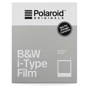 Polaroid i-Type Film - 8 Black & White Instant Photos - Not for Vintage Cameras
