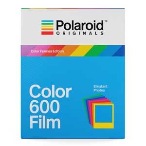 Polaroid Color 600 Film - Color Frame Edition - 8 Colour Instant Photos