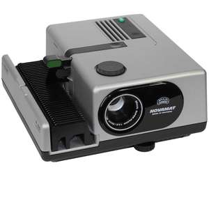 Braun Novamat E130 35mm Slide Projector with 85mm f2.8 Lens 150 Watt