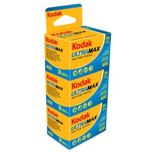 Kodak Ultra Max 400 Color Negative 35mm Film - 36 EXP - Pack of 3