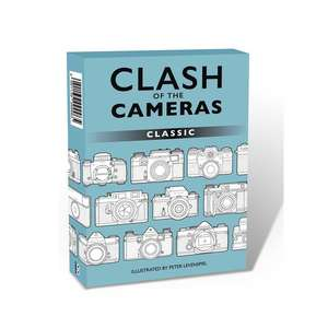 Clash of the Cameras Trumps Card Game | Classic Cameras
