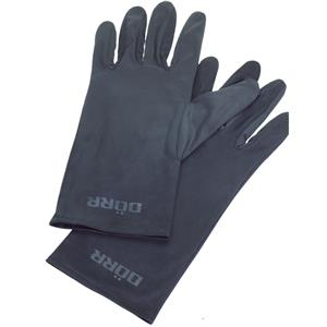 Dorr Microfibre Black Gloves - Medium