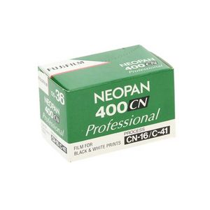 Fujifilm Neopan Professional 400CN 135-36 C-41 Black and White Film