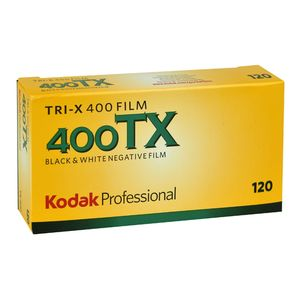 Kodak Professional Tri-X ISO 400 120 Black and White Negative Roll Film - 5 Pack