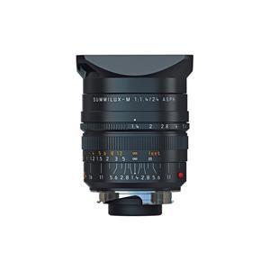 Leica Summilux 24mm F1.4 ASPH | Leica M Lens | Black | 11601