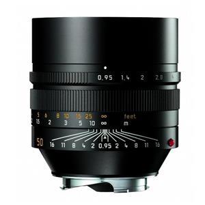 Leica Noctilux 50mm F0.95 ASPH | Leica M Lens | Black | 11602