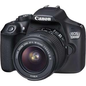 Canon EOS 1300D Digital SLR Camera with 18-55mm IS II Lens