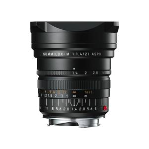 Leica Summilux 21mm F1.4 ASPH | Leica M Lens | Black | 11647