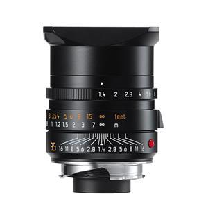 Leica Summilux 35mm F1.4 ASPH | Leica M Lens | Black | 11663