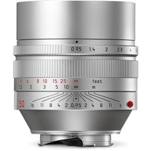 Leica Noctilux 50mm F0.95 ASPH | Leica M Lens | Silver | 11667