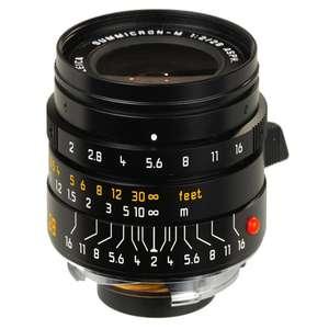 Leica Summicron 28mm F2 ASPH | Leica M Lens | Black | 11672