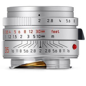 Leica Summicron 35mm F2 ASPH | Leica M Lens | Silver | 11674