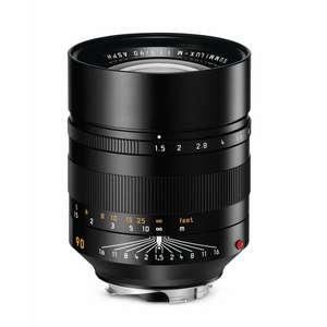 Leica Summilux-M 90mm F1.5 ASPH | Leica M Lens | Black | 11678