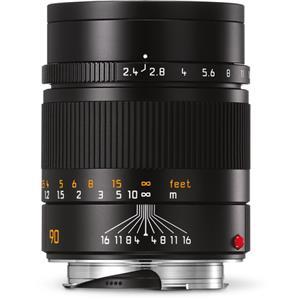 Leica Summarit 90mm F2.4 | Leica M Lens | Black | 11684