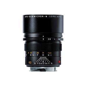 Leica APO Summicron 90mm F2 ASPH | Leica M Lens | Black | 11884