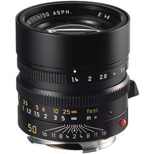 Leica Summilux 50mm F1.4 ASPH   Leica M Lens   Black   11891
