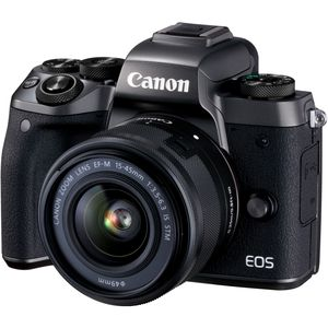 Canon EOS M5 Digital Camera with 15-45mm Lens