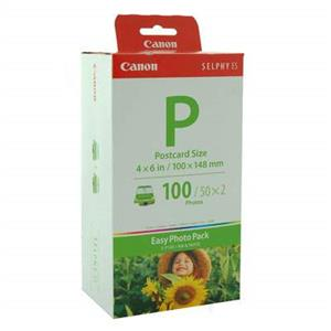 Canon EP-100 Selphy Ink and Paper Set