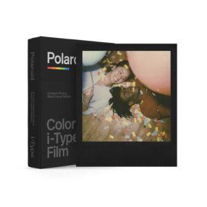 Polaroid I-Type Colour Film - Black Frame Edition